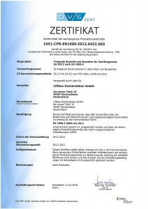 DVS-Zertifikat
