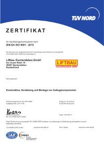 Zertifikat9001